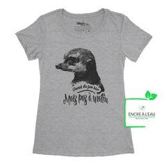 Creation T Shirt, Shirts With Sayings, Black Print, Screen Printing, Canada Post, Quebec City, Quality Printing, Prints, Mens Tops