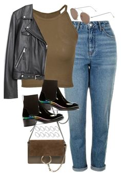 """""""Sin título #1195"""" by osnapitzvic ❤ liked on Polyvore featuring Topshop, Illesteva, Chloé, Acne Studios, ASOS and Zara"""