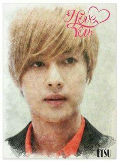 Kim Hyun Joong 김현중 ♡ fanart ♡ I Love You ♡ Kpop ♡ Kdrama ♡