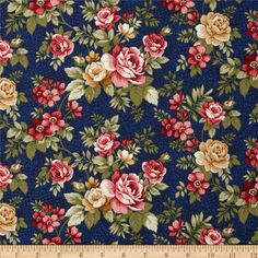 Henry Glass & Company presents Summer Festival by Color Principle red, beige and rose flowers on a red crackle background. Vintage Floral Backgrounds, Flower Backgrounds, Vintage Wallpapers, Iphone Wallpapers, Flowery Wallpaper, Love Wallpaper, Botanical Prints, Floral Prints, Flower Pattern Design
