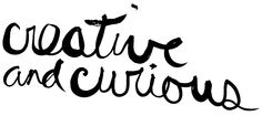 creative and curious scrawl by Janine Vangool