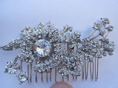 Hey, I found this really awesome Etsy listing at https://www.etsy.com/listing/97116549/bridal-haircomb-wedding-headpiece-bridal