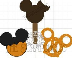 There are several Files which contain Disney style Treats found at their parks.There is one file which contains 3 treats, one being a Mickey
