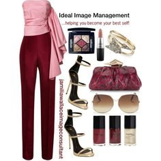 Ideal Image by jamilia-wallace on Polyvore featuring Rosie Assoulin, Giuseppe Zanotti, Jimmy Choo, Annina Vogel, Victoria Beckham, Christian Dior and MAC Cosmetics