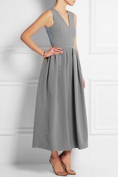 Preen by Thornton Bregazzi | Stretch-crepe midi dress 1460.