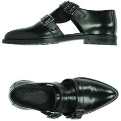 Mr. Wolf Moccasins (5.945 RUB) ❤ liked on Polyvore featuring shoes, loafers, black, black leather shoes, polish shoes, genuine leather shoes, black rubber sole shoes and black shoes