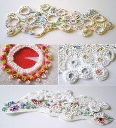 Beautiful textile art - karen ruane