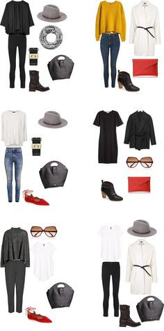 London England Outfit Options 11-16