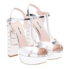 Miu Miu e-store · Shoes · Sandals · Sandals 5XP491_ZBZ_F0118_F_135