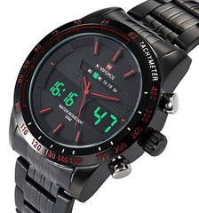 ★ NAVIFORCE ★ Luxury Military Style Watch LIMITED TIME ONLY!NOT SOLD IN STORES.Please allow 2-4 weeks for deliveryFeatures: Auto Date, Chronograph, Complete Calendar, Diver, Multiple Time Zone, Water ResistantMaterial: Stainless SteelStrap Size: 23*2.4CMWatch Case Size: 4.6CMBelt Material: Stainless SteelWatch Case Material: Stainless SteelWeight: 160gMovement: Quartz