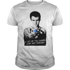 Exclusive design not available in stores. Get your 13 Reasons Why Clay Jensen and Hannah Baker quote inspired T-Shirt today. Available in various sizes, styles and colors. Share with someone who would love this Netflix show Tee.