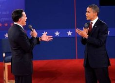Images from the second presidential debate. President Obama and Republican presidential candidate, former Massachusetts Gov. Mitt Romney participated in the town meeting style affair hosted at Hofstra University, Tuesday, Oct. 16, 2012, Hempstead, N.Y.