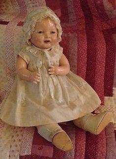 Effanbee Bubbles Doll All Original Vintage Composition