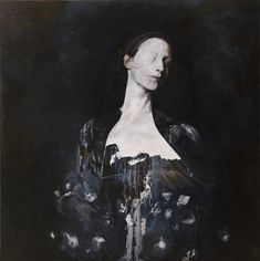 Hauntingly Beautiful Painting by Italian artist Nicola Samori