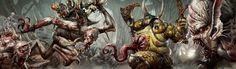 http://wellofeternitypl.blogspot.com Age of Sigmar Artwork   Ghouls Court…