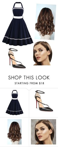 """Untitled #245"" by mayalovescoffee on Polyvore featuring Christian Louboutin"