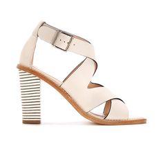 Loeffler Randall | love the striped heel