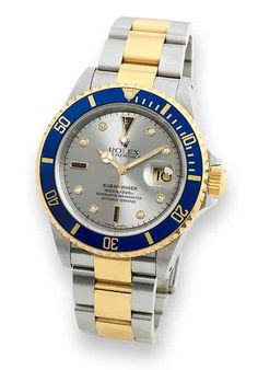 www.watchtime.com | blog | Fratello Friday: 5 Watches With Diamonds That Men Can Actually Wear | Rolex Submariner 16613Serti 500