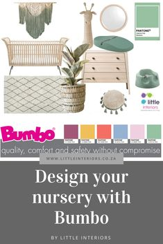 Design your nursery with Bumbo - Little Interiors - Interior Design Blog