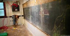 What Was Hidden Behind Chalkboards SHOCKED This School!