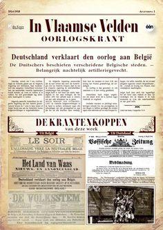 In Vlaamse velden : oorlogskrant -  Cools, Jan -  plaats 927.5
