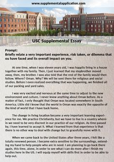 pin by donaldross on supplementalapplication  pieces of advice on the usc supplemental application process and various program requirements