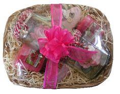 Pink Dragon Fruit Yankee Candle Gift Basket
