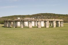Stonehenge mini replica near Kerrville, Tx - When you tried to convince me to come visit you, this should have come up in conversation.