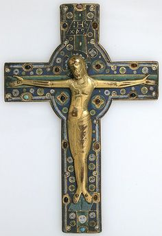 Crucifix, mid-13th century, Limoges