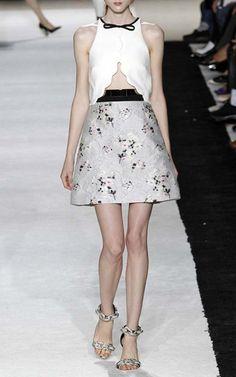 Paris Edition Spring/Summer 2015 Trunkshow Giambattista Valli Look 12 on Moda Operandi