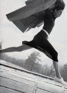 #vintage Stella Tennant in Burberry photographed by Steven Meisel for #Vogue May 1996 #90s