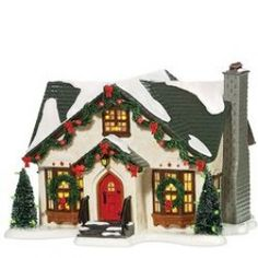 Department 56 - Snow Village - Dancing Lights House | Department 56 Villages, Free Shipping on Dept 56