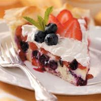 Berry Cheesecake Pie and the other Top 10 4th of July desserts