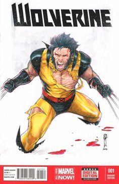 Wolverine by Garrie Gastonny *