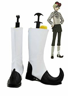 Black Butler Kuroshitsuji Circus Dagger Cosplay Shoes Boots Custom Made -- You can find out more details at the link of the image.(This is an Amazon affiliate link and I receive a commission for the sales)