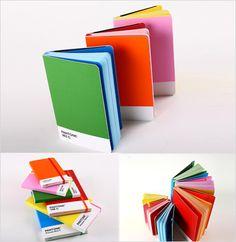 pantone notebook.