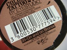 "Colour Tattoo de Maybelline New York ""On and on Bronze"" Colour Tattoo, Cream Eyeshadow, Baking Ingredients, Cookie Dough, Maybelline, Bronze, York, Color, Colour"