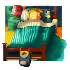 Bed Time Stories on Behance