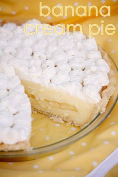 easy banana cream pie