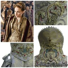 Embroidery for Game of Thrones by Michele Carragher