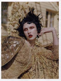 Karlie Kloss photographed by Tim Walker for W, September 2010.   #hautecouture