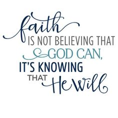 Silhouette Design Store - View Design #121943: faith is not believing god can phrase