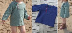 Schnittmuster Lieblings-Hemd: Einfach zu nähendes Kinderhemd ohne schwierige Details. Toll für Baumwolle, Musselin, Webware, als Sommerhemd, Fischerhemd,... Super auch als Pulli-, Hoodie- oder Blusenschnitt geeignet.