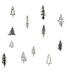 New simple tree drawing sketches Ideas tree tattoo Simple Tree Tattoo, Tree Drawing Simple, Pine Tree Art, Pine Tattoo, Tree Sketches, Drawing Sketches, Sketch Art, Simple Sketches, Drawing Tutorials