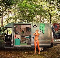 "370 Likes, 19 Comments - Elizabeth aka @van_grrrl (@van.crush) on Instagram: ""So many good ideas in this van. #vancrush   • • Repost from @ciaolesnazes #vanlife #vanlifediaries…"""