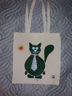 nákupní+taška+plátěná+plátěná+nákupní+taška+ruční+malba+37x33cm Reusable Tote Bags