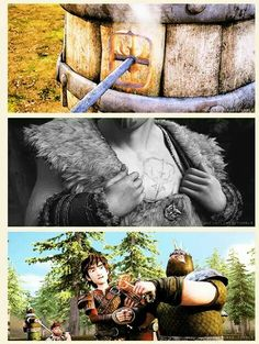 I thought I was the only one who noticed this! I love all the parallels in the HTTYD franchise.