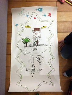 Idée pour fêter l'anniversaire d'un enfant de 7 ans : thème aventurier Koh Lanta ©aunomi