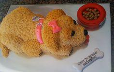 Golden Retriever Dog Cake 2