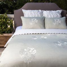 3 Piece Charlotte Bedding Set in Green at Joss & Main